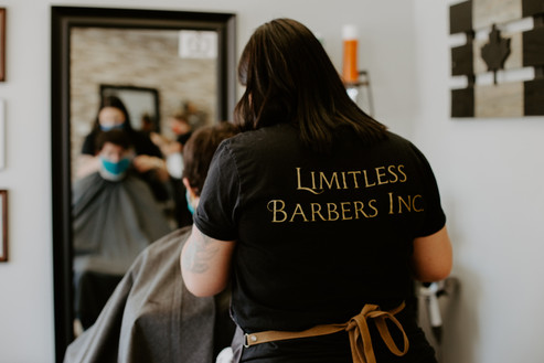 Limitless Barbers- Branding Session