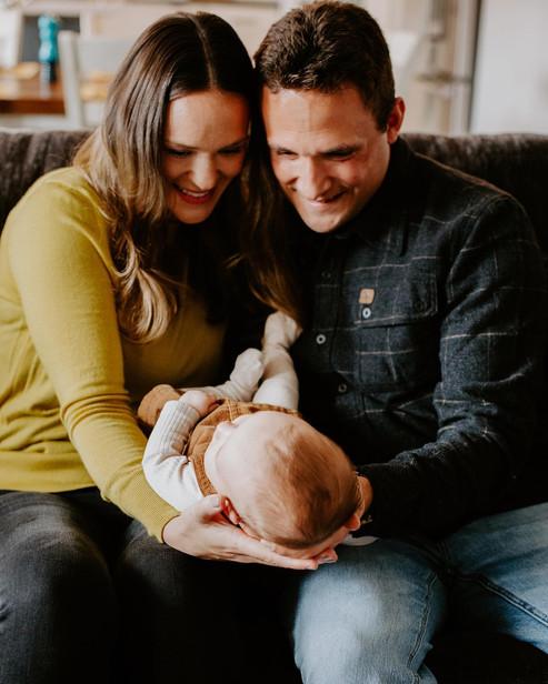 Jackie, Ryan & Grace - Family Session