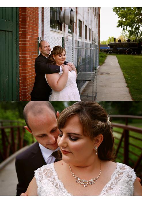Julie & Dan - Wedding Day Sneak Peek