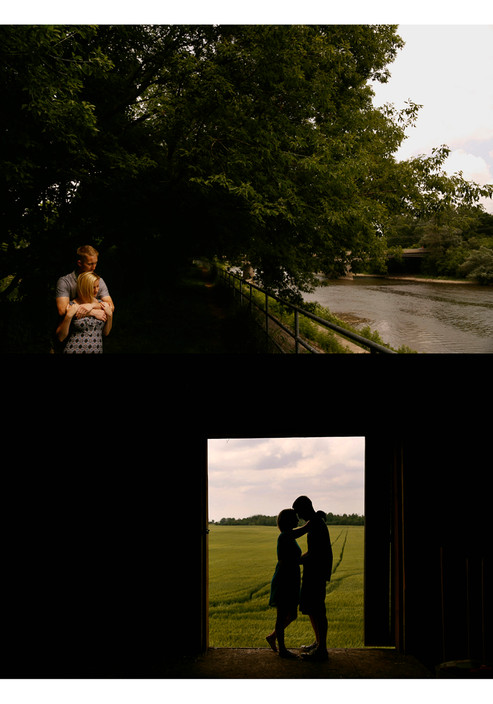 Sneak peek from yesterday's engagement shoot, the city & the country.