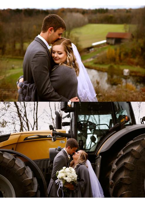 Stephanie & Garrett - Wedding Day Sneak Peek