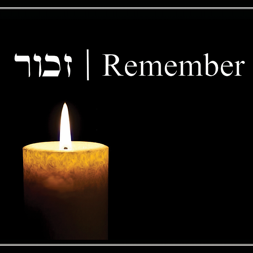 6:30PM Brownstone Brooklyn Yom HaShoah Commemoration