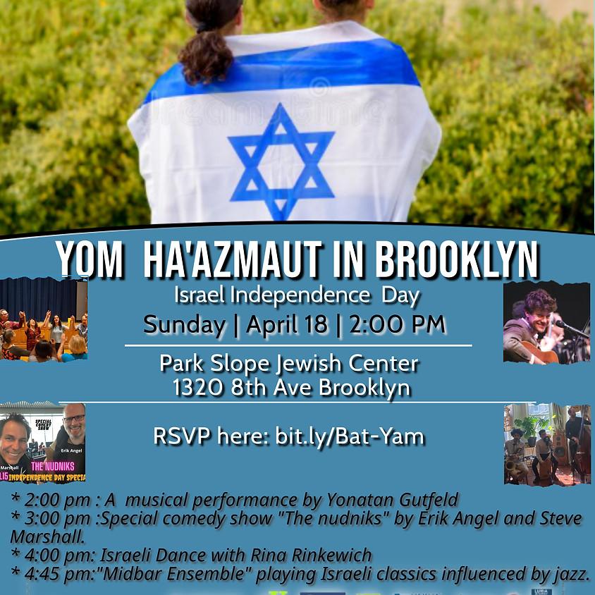 2:00 PM Yom Ha'azmaut in Brooklyn
