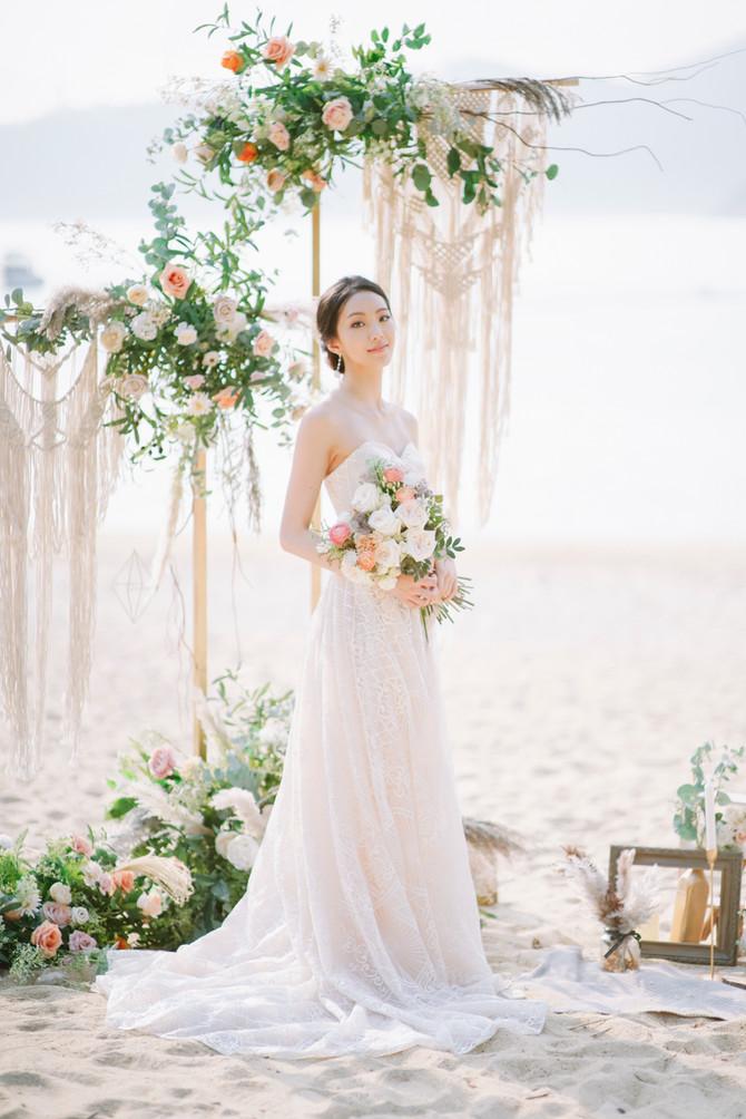 Summer Bridal Portrait
