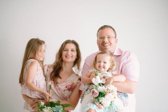 Family Portrait with VERC Photography