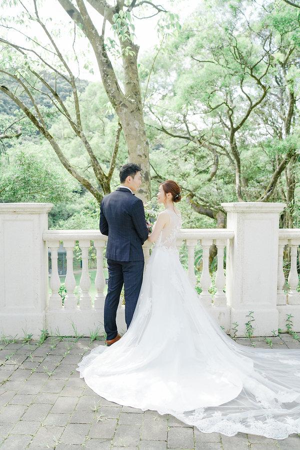 Peak Garden Outdoor Photography with Hong Kong Pre Wedding Fine Art Engagement Shooting Photographer. by VERC Photography vercphotography