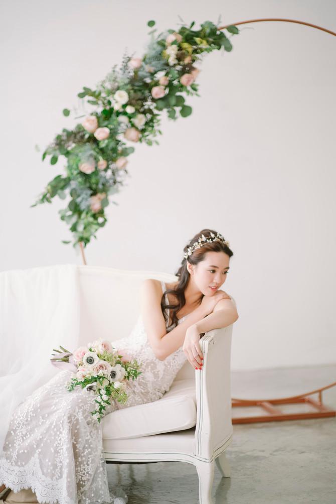 Bridal Portrait Styled Shoot