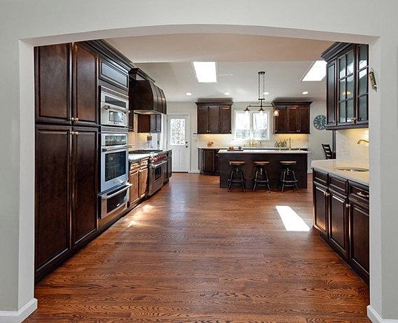 Espresso Glaze Kitchen Cabinets Design Showroom