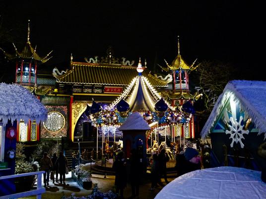 Copenhague - Une nuit au Parc Tivoli