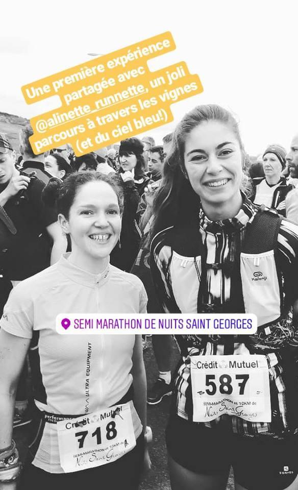 premier semi marathon blog running course