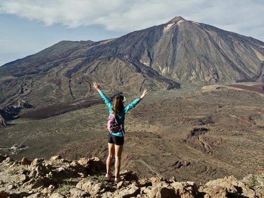 TENERIFE - Ascension Montaña Guajara