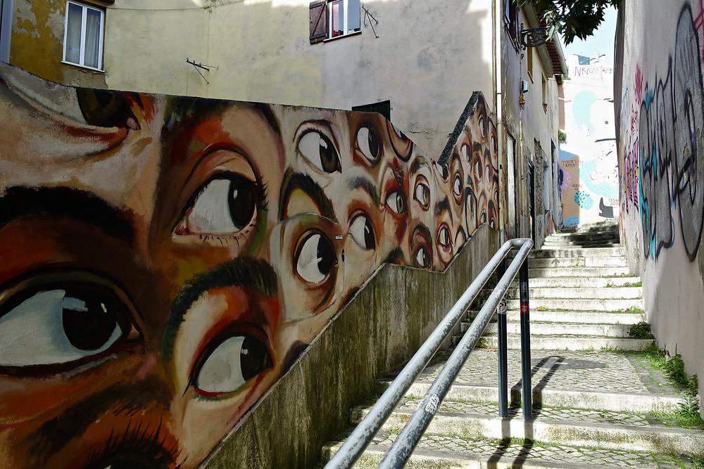 voyage portugal visiter lisbonne street art