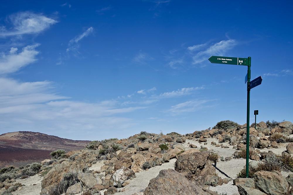 randonnée îles canaries tenerife parc du teide
