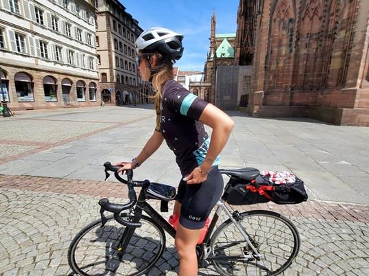 Bikepacking - Besançon / Strasbourg à vélo