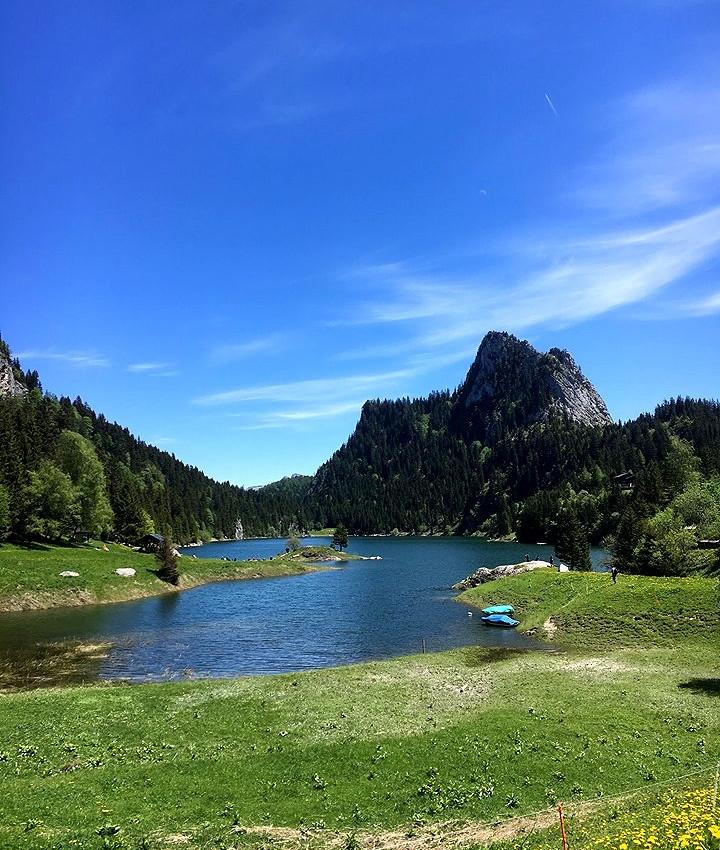 randonnée suisse lac taney