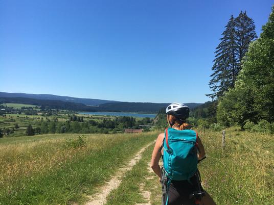 Micro-aventure #4 : Le tour du lac de Malbuisson à VTT