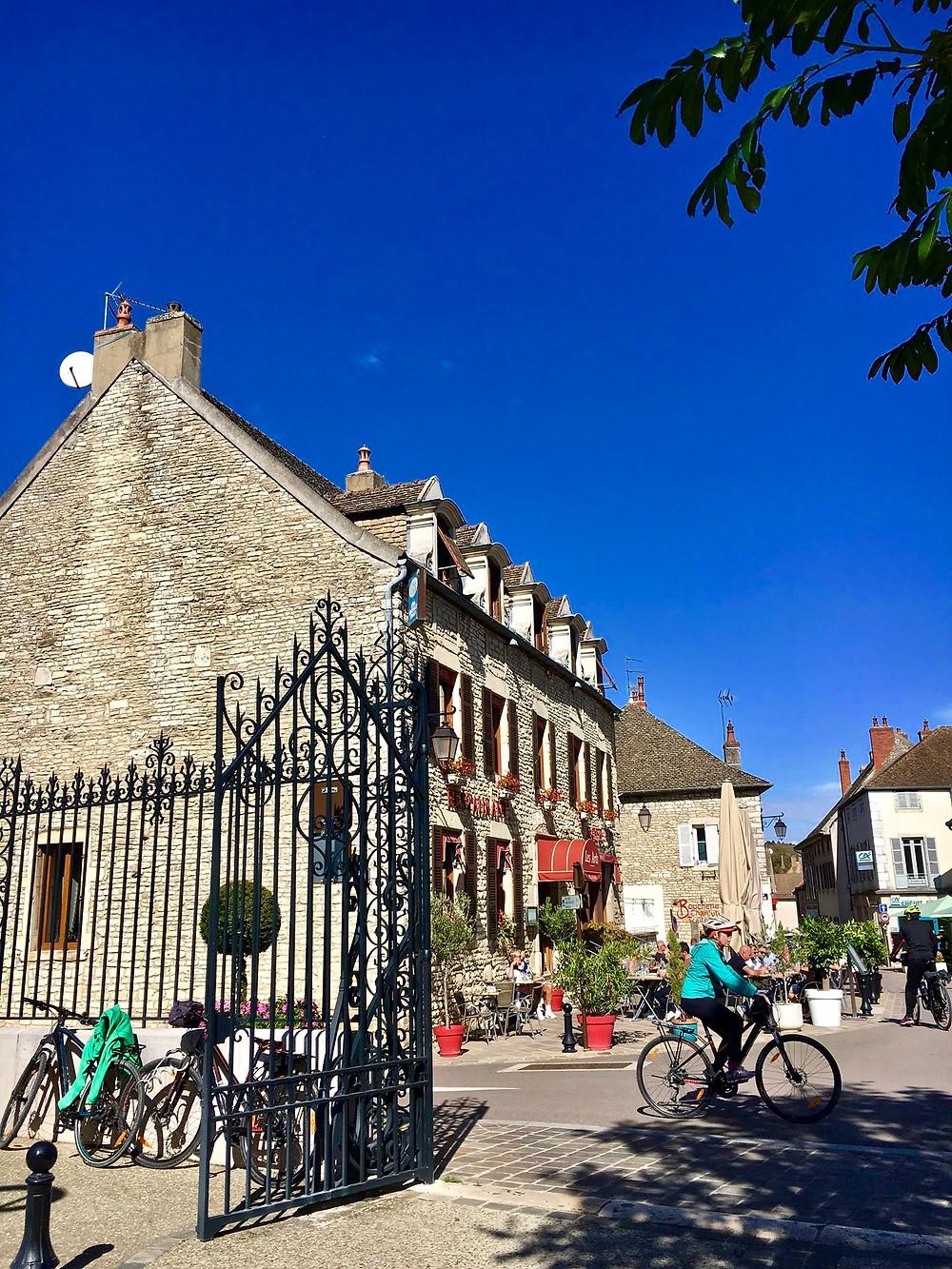 La voie des vignes à vélo en Bourgogne