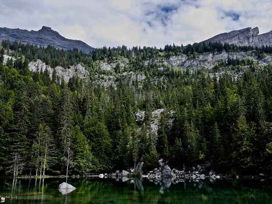 Rando - Boucle du Lac Vert à Passy