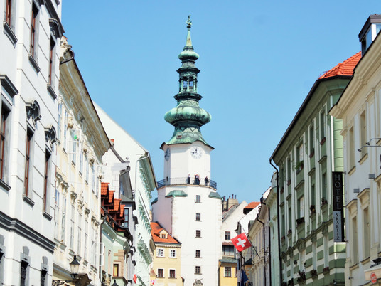 Mon coeur est resté à Bratislava