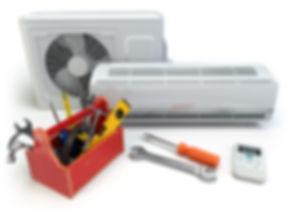 air condtioner repairs with tool box