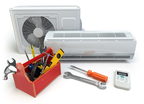 air condtioner repairs with tool box