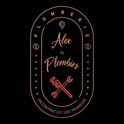 logo couleur Alex le plombier