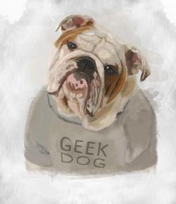 geek dog