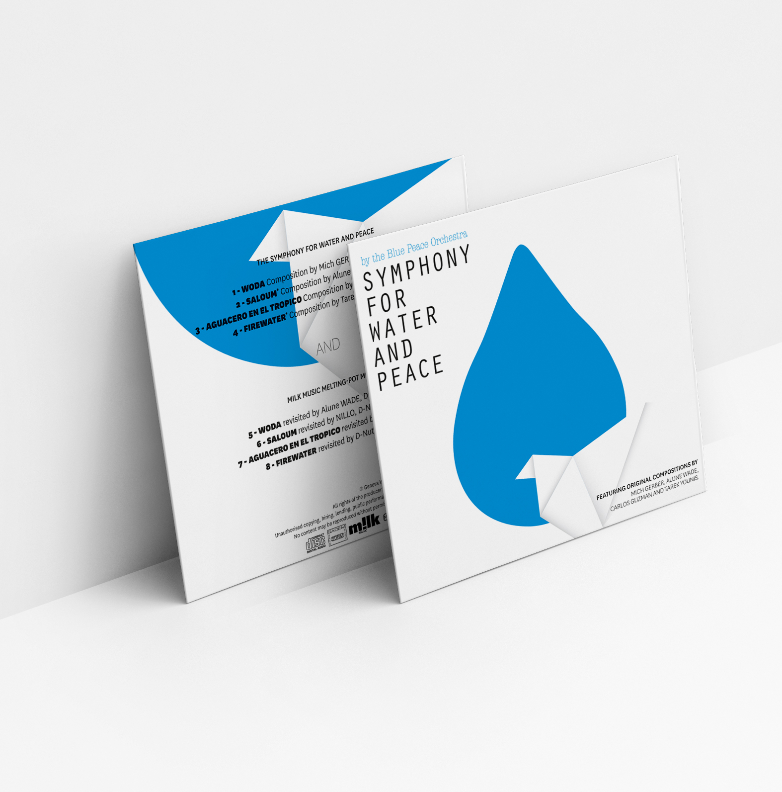 CD Symphonie for water and peace