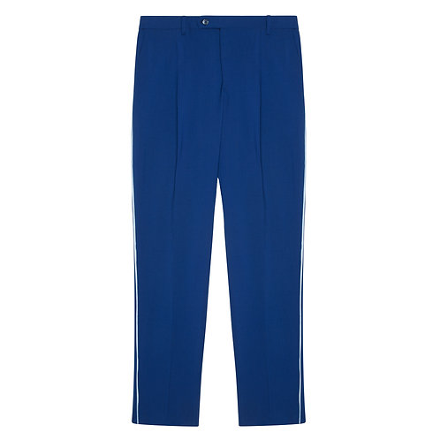 PLEATED 150'S PURE VIRGIN WOOL SUIT TROUSERS
