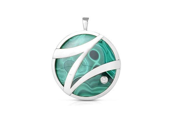 Strength Pendant - Sterling Silver