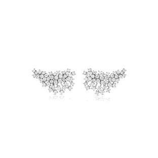 Earring Climbers - White Gold
