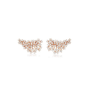 Earring Climbers - Rose Gold