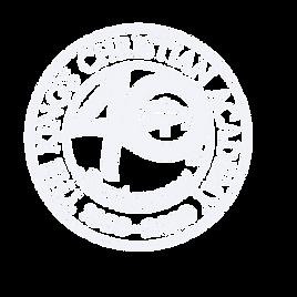 KCA 40 Year Logo White PS Transparent fi