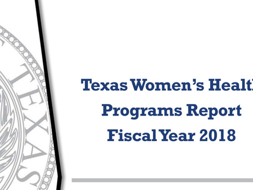 Women's Health Program Savings and Performance Report Released