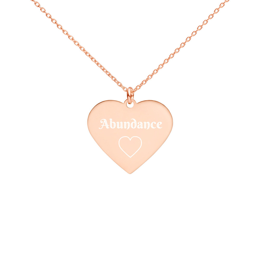 Abundance necklace, mindset anchor, reminders
