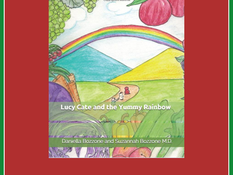 New Book: Lucy Cate and the Yummy Rainbow