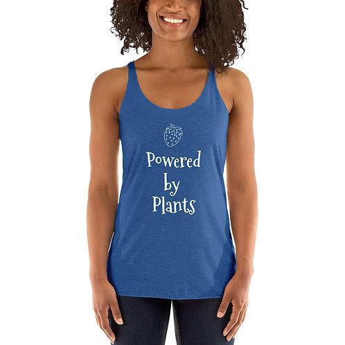 Powered by Plants Women's Racerback Tank