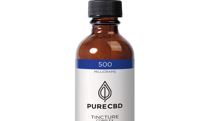Pure CBD Oil 500mg - 2 Bottles
