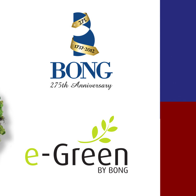 Different logotypes for Bong