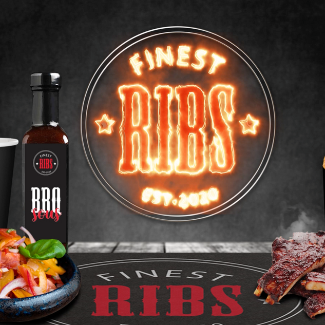 Intro film for Finest Ribs