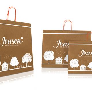 Designs for a bag for Jensen