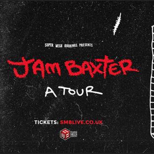 JAM BAXTER TOUR POSTER