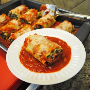 Lasagna Spinach Rolls(Veggie)