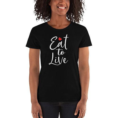 Eat2live Womens T-Shirt