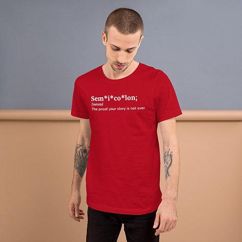 Semicolon Unisex T-Shirt