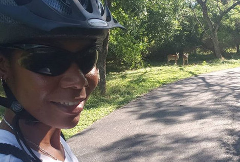 Morning bike ride...Good Morning nature.