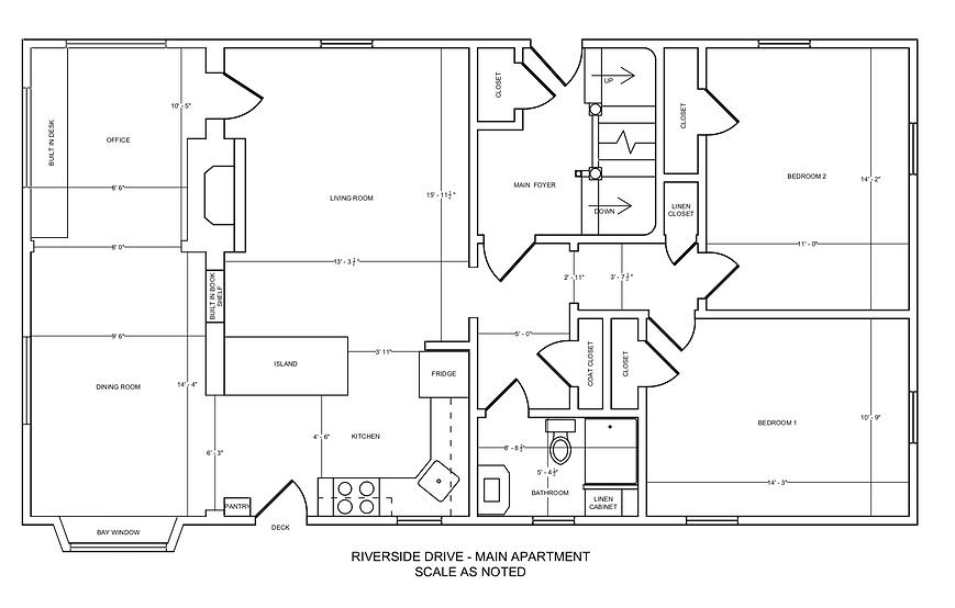 705 Riverside Drive - MAIN level floor p