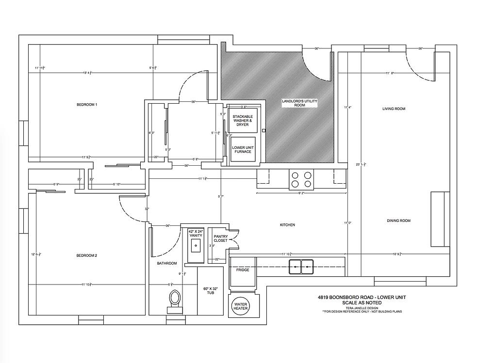 4819 Boonsboro Road - Lower Level Unit F