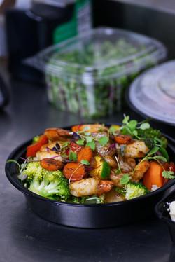06142021 Meal prep Shrimp and Broccoli 1
