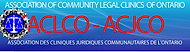 Association of Community Legal Clinics of Ontario logo image